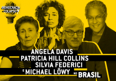 Patricia Hill Collins, Silvia Federici, Michael Löwy E Angela Davis No Brasil